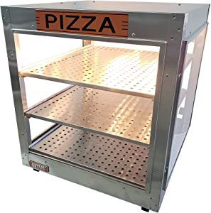 "HeatMax 202024 Fund Raising Pizza Warmer, Food Warmer Display, Pizza Sign, Fits 18"" Pizza!"