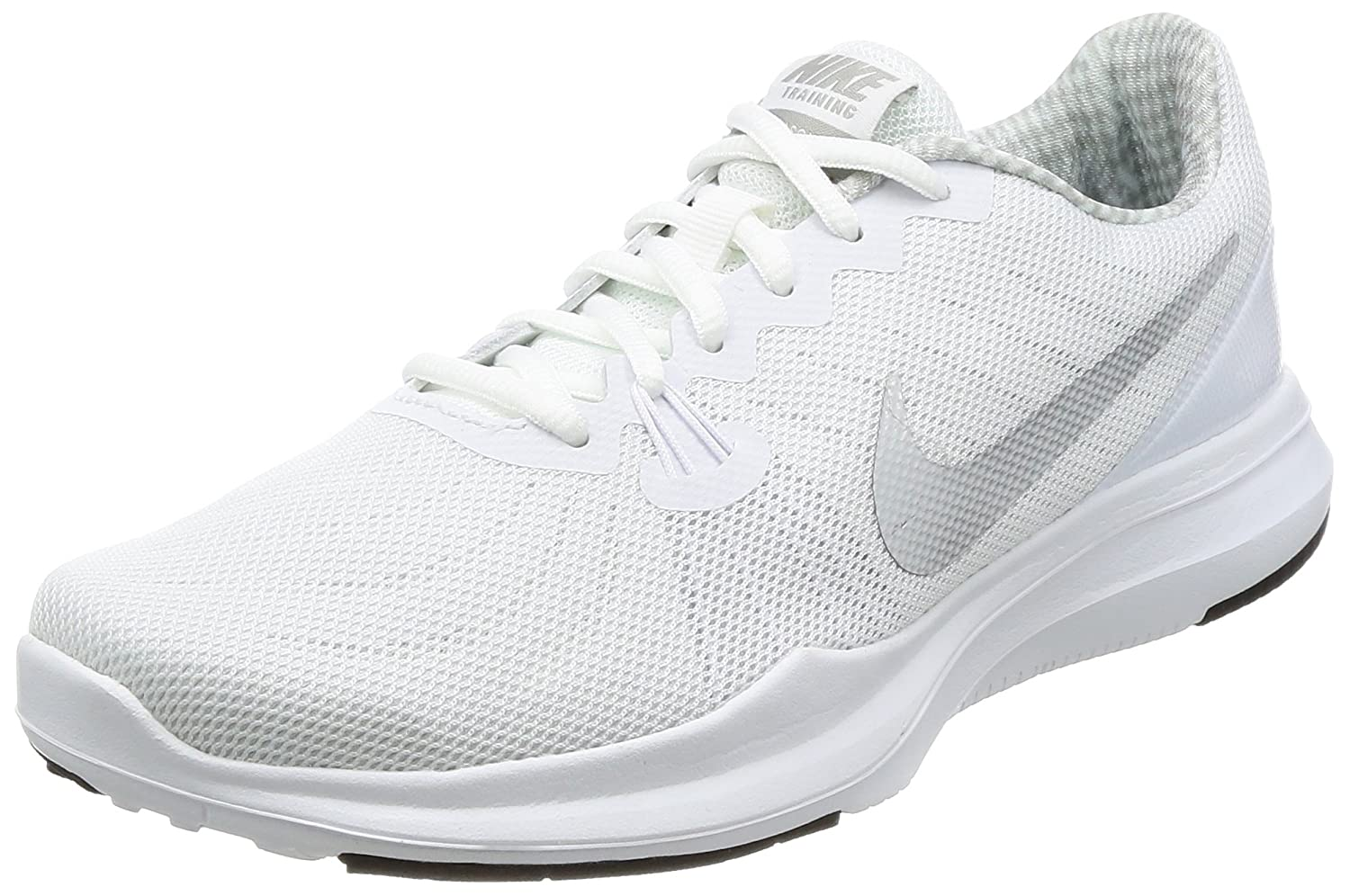 NIKE Women's in-Season 7 Cross Trainer B01MT1HHPM 10 B(M) US|White/Silver