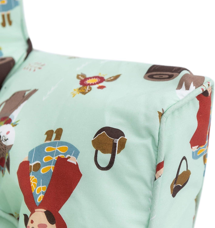 ergonomisch geformter Sitzsack Rainforest Shopisfy Ready Steady Bed Kinder Kleinkind Sessel Bequeme Kinderm/öbel weicher Kindersitz Spielzimmer Sofa