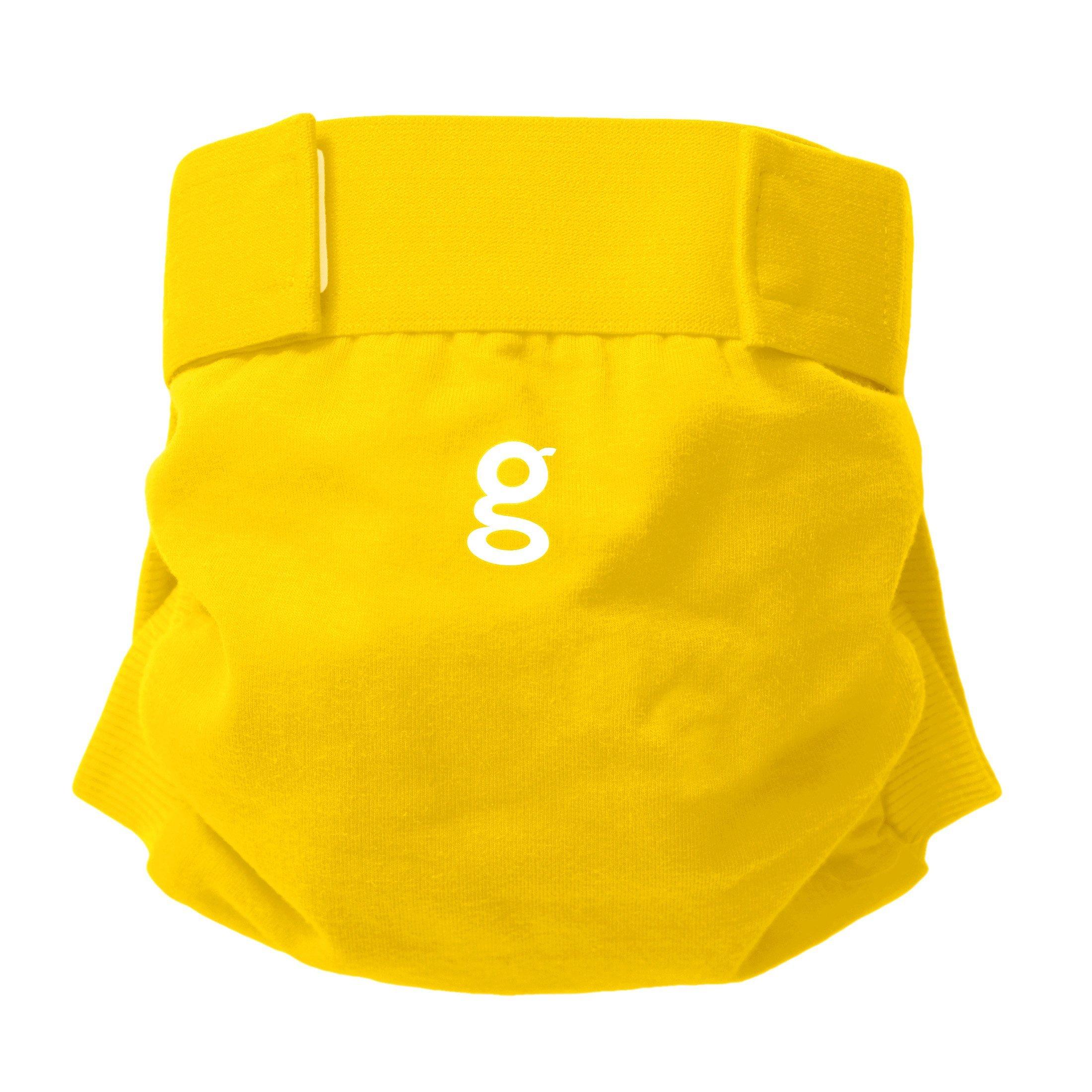 Gdiapers Good Morning Gpants, Sunshine Yellow, X-Large