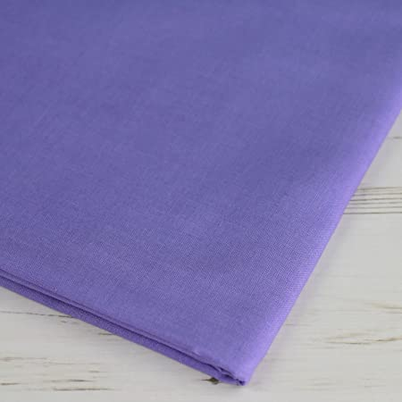 Violet Purple Sew Simple 100/% Cotton Solid Fabric Plain Fabrics material