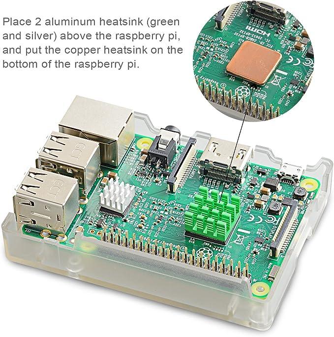Aukru Transparente Caja Nuevo Modelo (Puede Instalar Ventilador)+ ...