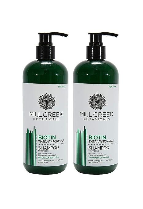 Mill Creek Biotin Shampoo With Keratin & Aloe vera