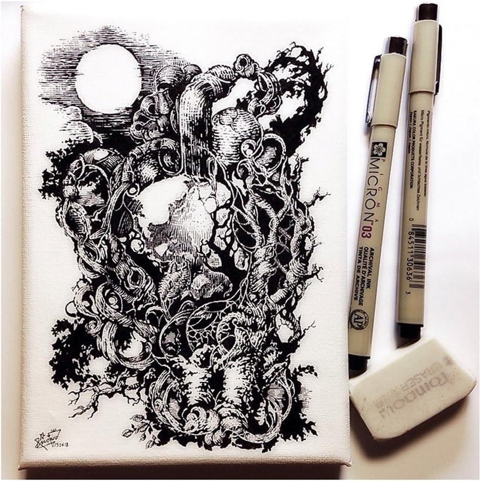 Liner Pigma Micron Tinte Fine Line Pen Fineliner Drawing Pigment Black Ink I8A1