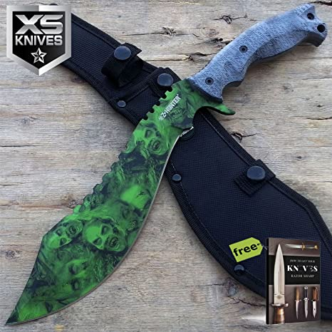 Amazon.com: Z Hunter Kukri Machete - Cuchillo de cuchilla de ...