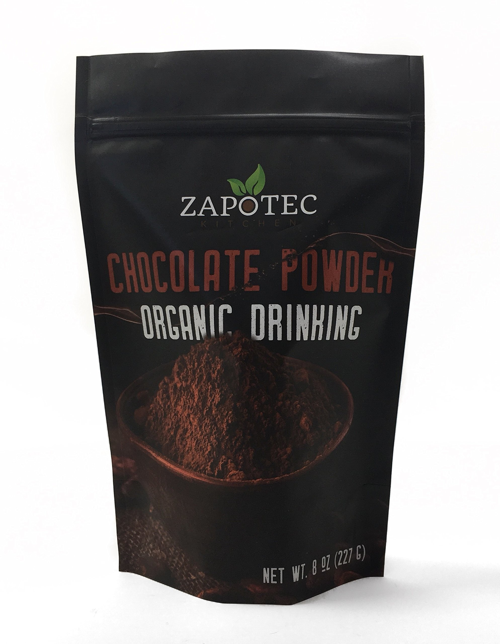 Zapotec Kitchen Organic Raw Cocoa Powder, Wild Dark Chocolate Powder, Handcrafted, Organically Grown Non-Alkalized Cacao from... Wild Foods