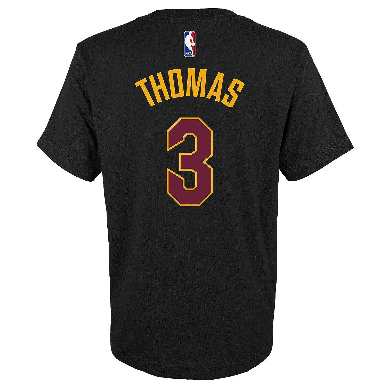 Isaías thomas nba cleveland cavaliers # 3 jóvenes niños nombre & número camiseta negro, Negro: Amazon.es: Deportes y aire libre