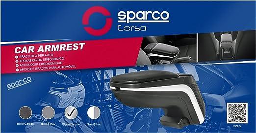 Sparco Spc4100ch Armlehne Universal Chrom Auto