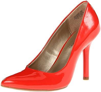Women's Bandolino Supermodel Red Synthetic Heels (Black Sythetic