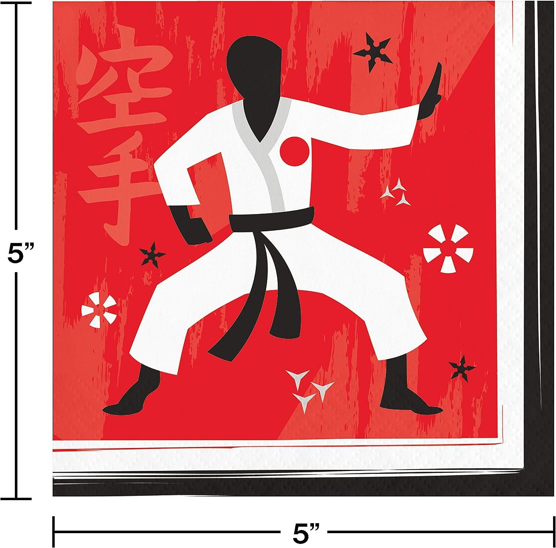 Amazon Com Karate Party Supplies Kit Serves 24 Toys Games