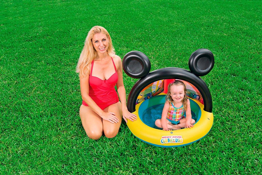 Piscina Hinchable Infantil con Parasol Bestway La Casa de ...