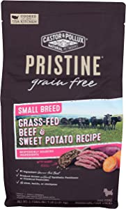 Castor & Pollux, Dog Food Dry Pristine Beef Chickpea Small Breed, 64 Ounce