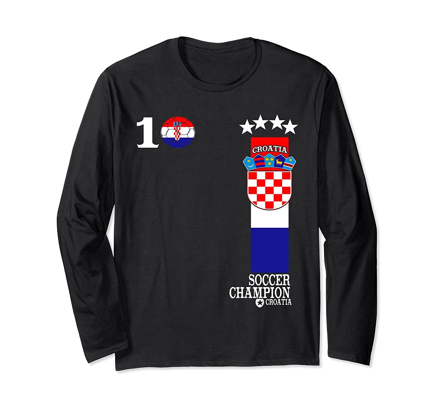 Croatia 2018 Soccer Team No.10 Fan Jersey T-Shirt-ln – Lntee 572f5dd7c