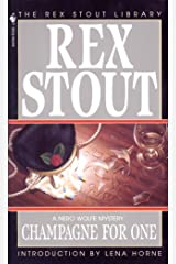 Champagne for One (A Nero Wolfe Mystery Book 31) Kindle Edition