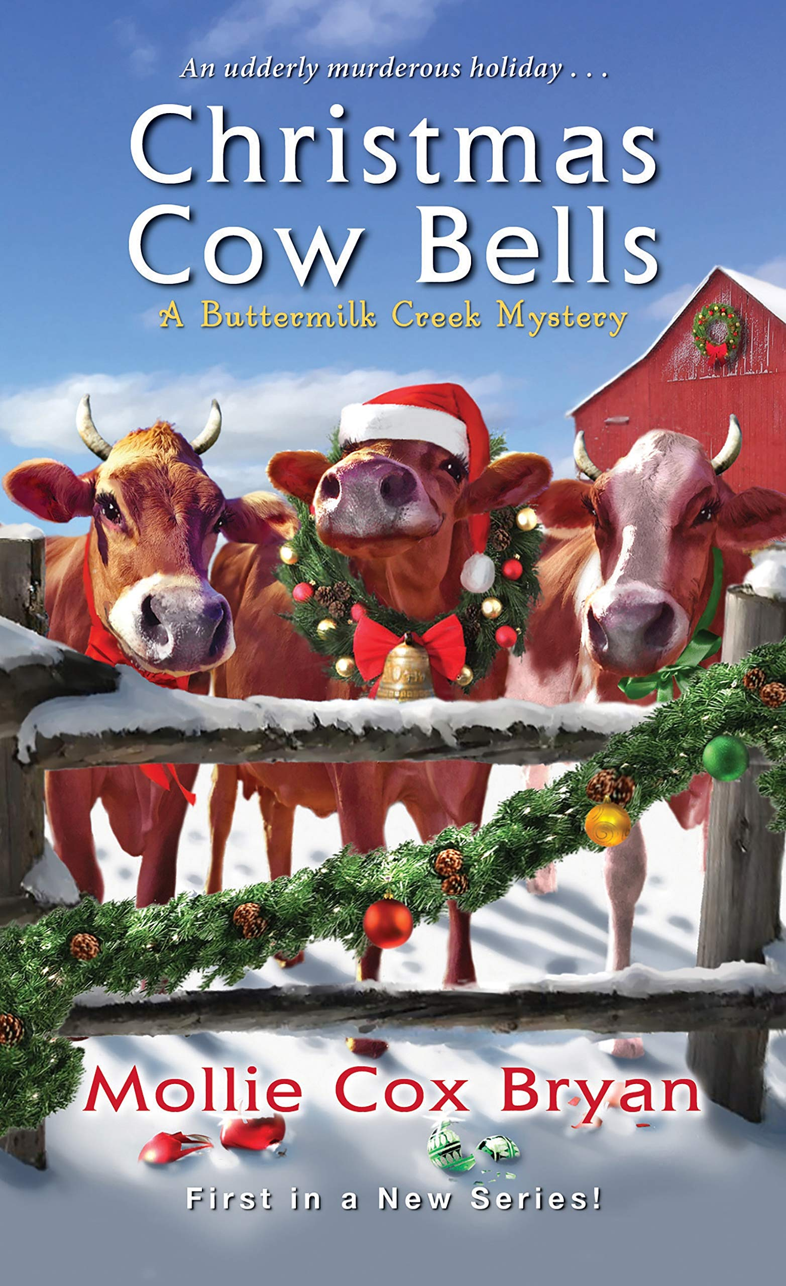 Christmas Cow.Amazon Com Christmas Cow Bells A Buttermilk Creek Mystery