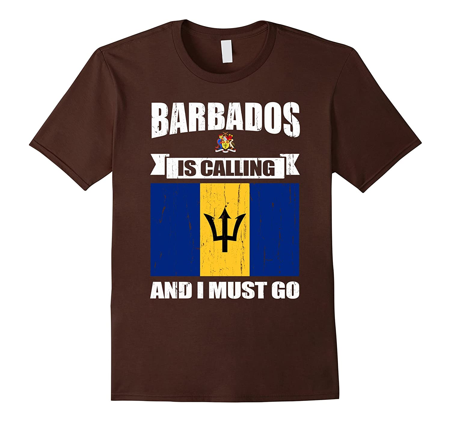 Barbados calling me gifts T-Shirt-alottee gift