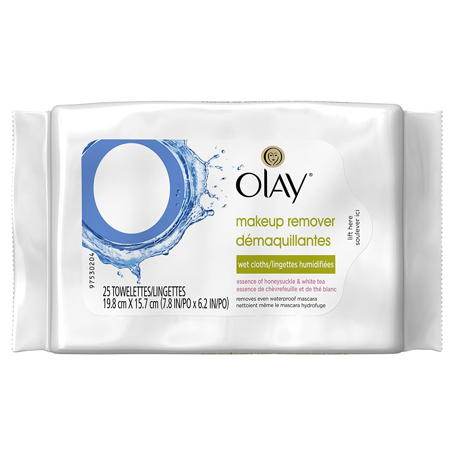 Olay Makeup Remover Wet Cloths, 25 count Procter and Gamble