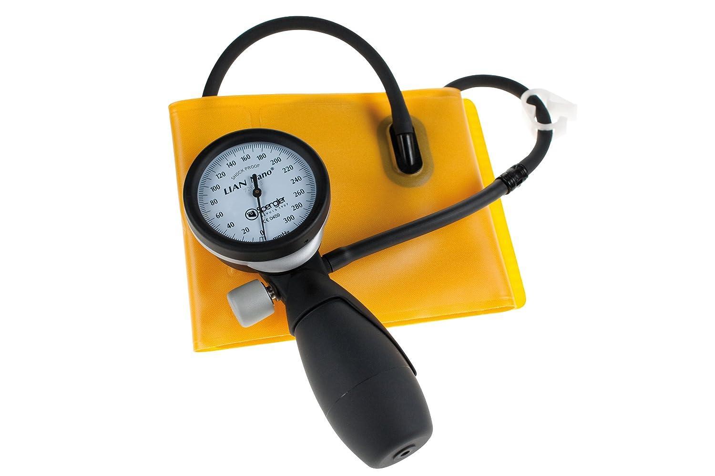 Spengler Lian Nano Clinic - Tensiómetro manual para adultos (talla M) y estetoscopio Laubry Clinic: Amazon.es: Industria, empresas y ciencia
