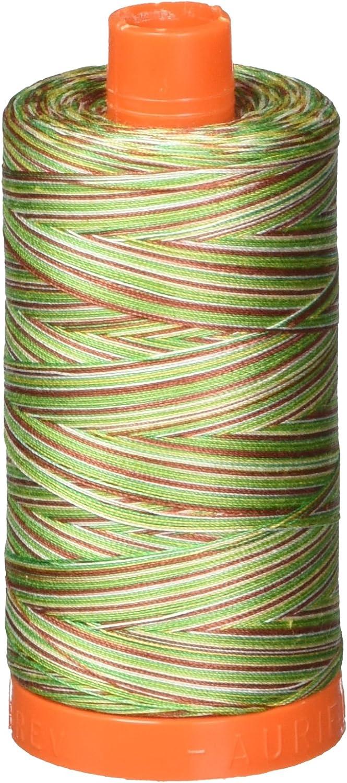 4650 1422yds//1300Mt Aurifil 50wt Cotton Thread Leaves Variegated