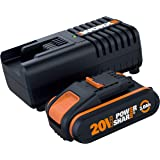 WORX WA3601 Battery & Charger Kit Powershare™ 20V 2.0Ah MAX Lithium-ion Battery & Charger Kit