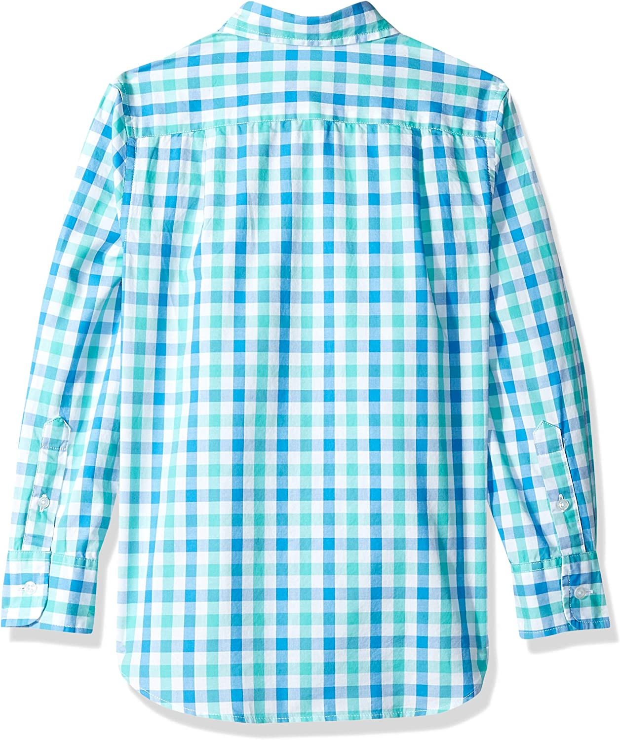 Crew Brand LOOK by crewcuts Boys Long Sleeve Gingham Shirt // J