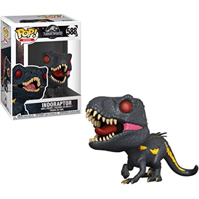 Funko Indoraptor: Jurassic World - Fallen Kingdom x POP! Movies Vinyl Figure & 1 POP! Compatible PET Plastic Graphical Protector Bundle [#588 / 30984 - B]: Toys & Games