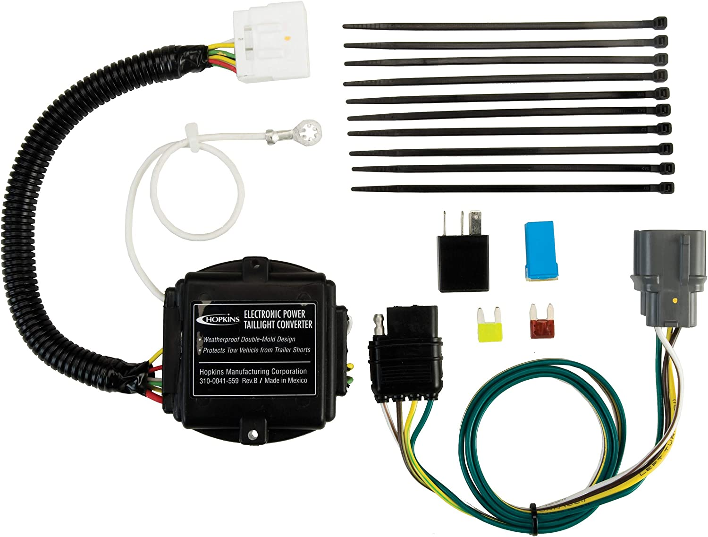 Hopkins 11143104 Plug-in Simple Vehicle Wiring Kit
