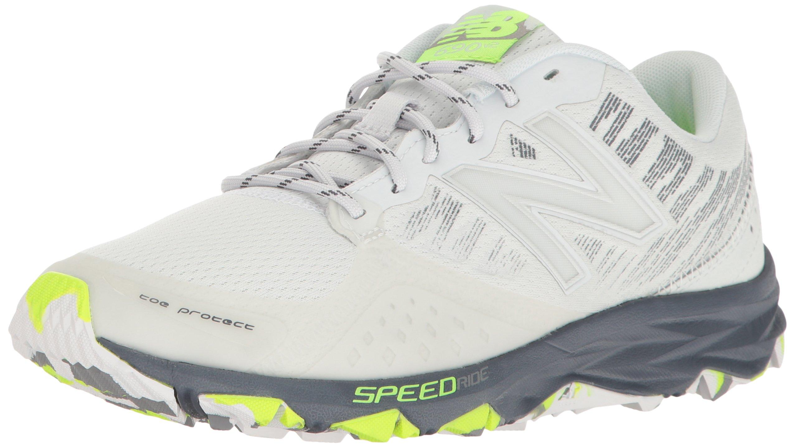 New Balance Women's Responsive 690v2 Running Shoe Trail Runner, Artic Fox/Thunder, 7.5 D US