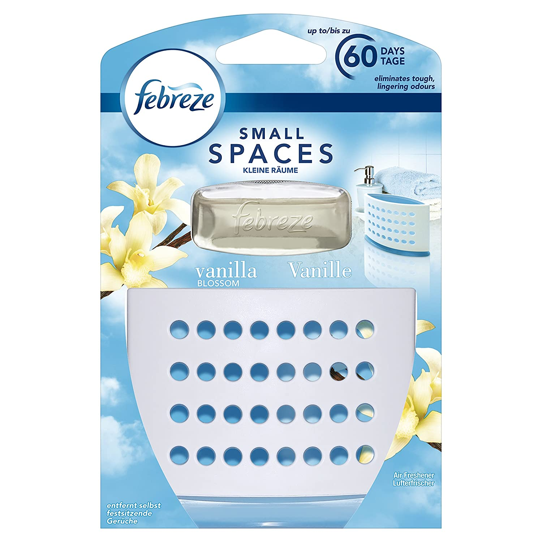 Febreze Small Spaces Air Freshener Starter Kit 5,Vanilla Blossom, 5 ml Procter & Gamble 81556389