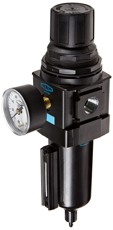 165 SCFM Flow 250 psig Pressure 1//2 Size Dixon Valve /& Coupling 1//2 Size Dixon B28-04MGMB Manual Drain Wilkerson Standard Filter//Regulator with Metal Bowl and Sight Glass