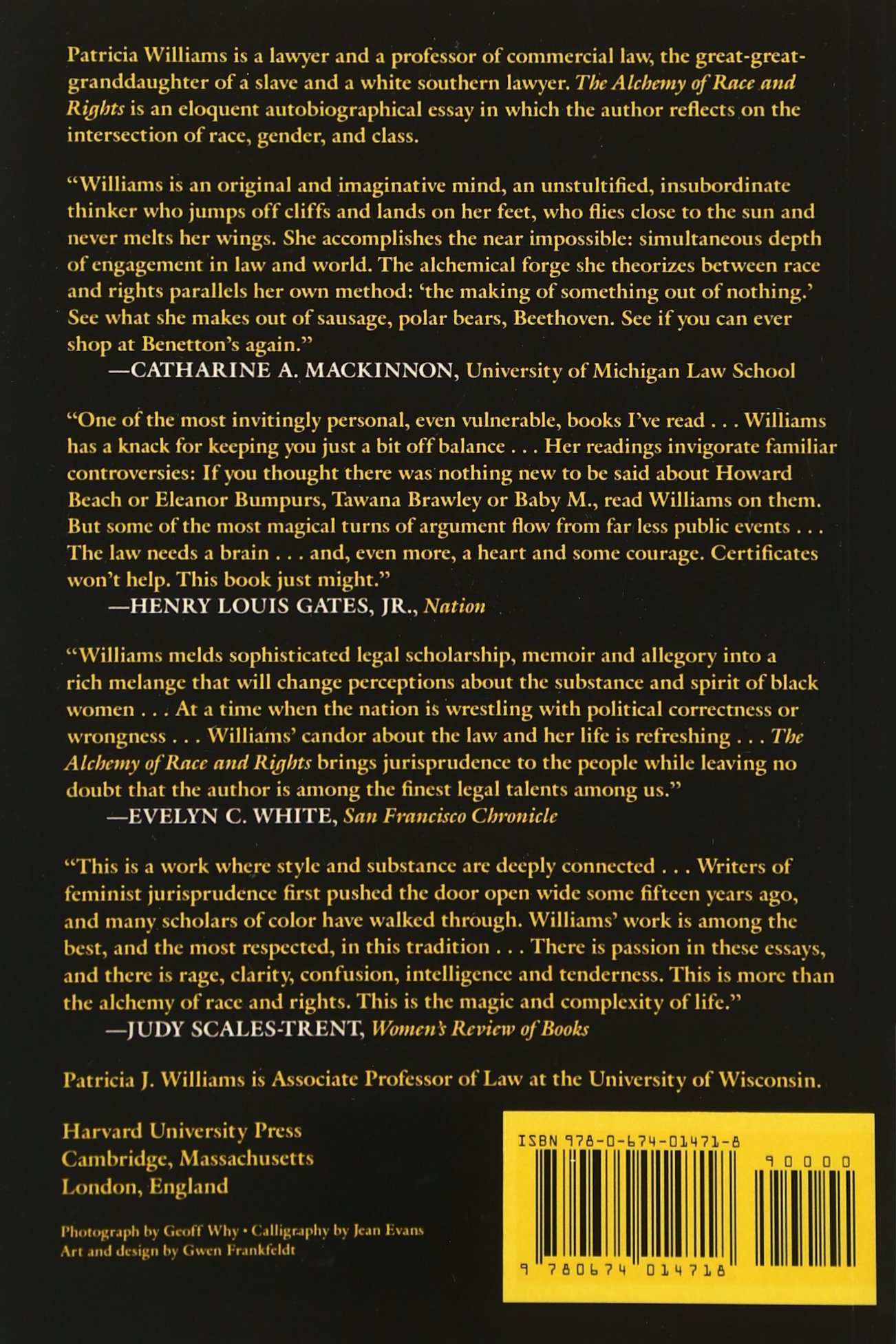 the alchemy of race and rights patricia j williams the alchemy of race and rights patricia j williams 9780674014718 books ca