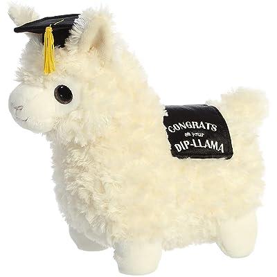 "Aurora - Graduation - 11"" Graduation Llama Cream: Toys & Games"