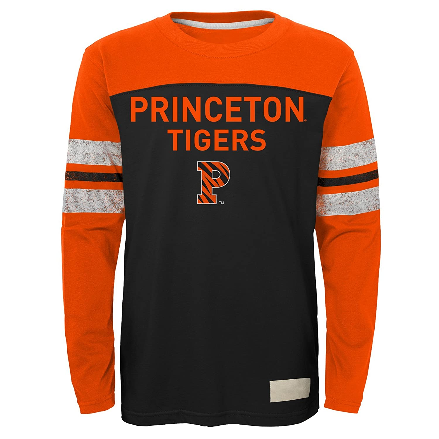 NCAA by Outerstuff NCAA Princeton Tigers Kids /& Youth Boys Legacy Tee Long Sleeve Crew Youth X-Large 18 Black