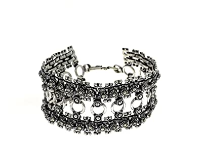 Buy Indian Fashion Birthday Gifts For Men Traditional And Ethnic Oxidised Jewellery Link Bracelet Online At Low Prices In India