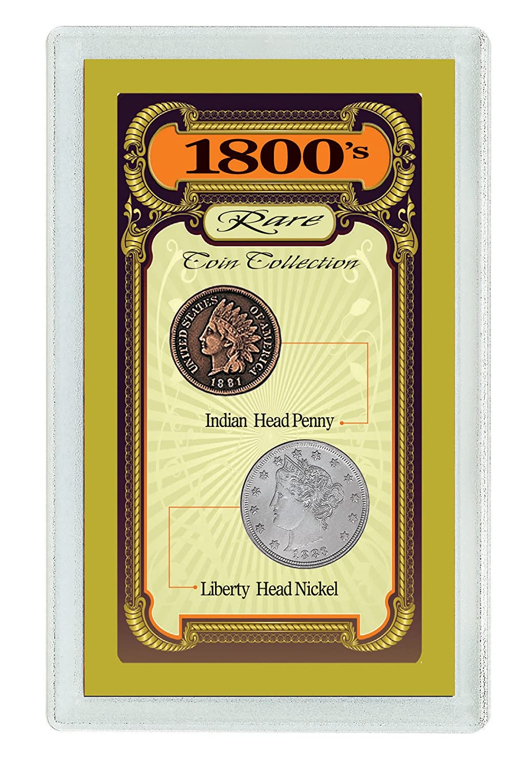 American Coin Treasures 1800's Rare Coin Collection UPM Global--DROPSHIP 1634