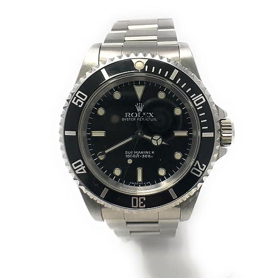 Rolex Submariner swiss-automatic Mens Reloj 14060 (Certificado) de segunda mano