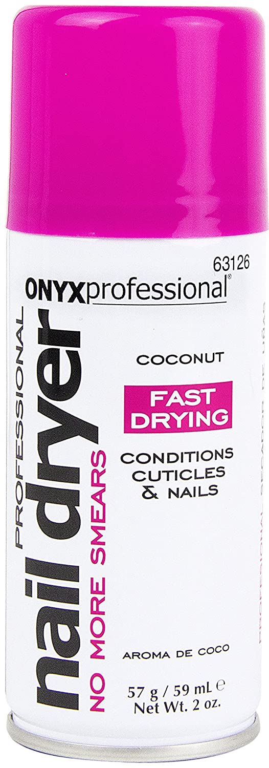Amazon.com : Onyx Professional Spray on Nail Dry w/ Island Coconut ...