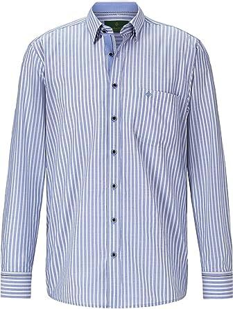 Charles Colby Camisa de manga larga Hamish para hombre, diseño de rayas