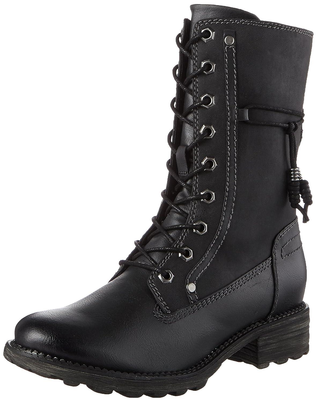 Tamaris 26217, Botas Militar para Mujer38 EU|Negro (Black)
