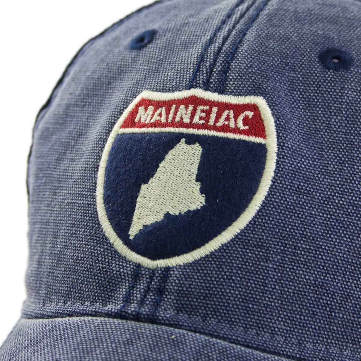 94a5f6dc13c51 Chowdaheadz Maine Road Sign Cobblestone Trucker at Amazon Men s Clothing  store