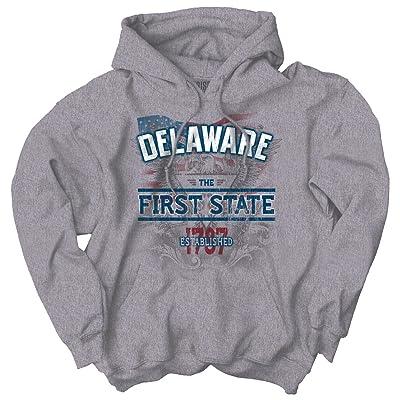 Classic Teaze Delaware State American Eagle USA T Shirt Patriotic Gift Ideas Hoodie Sweatshirt
