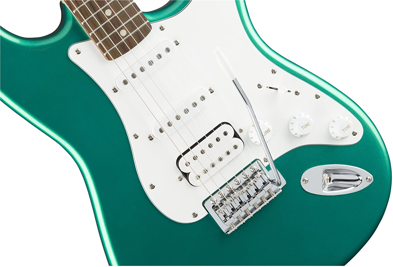 Amazon.com: Squier by Fender Affinity Stratocaster HSS Beginner ...