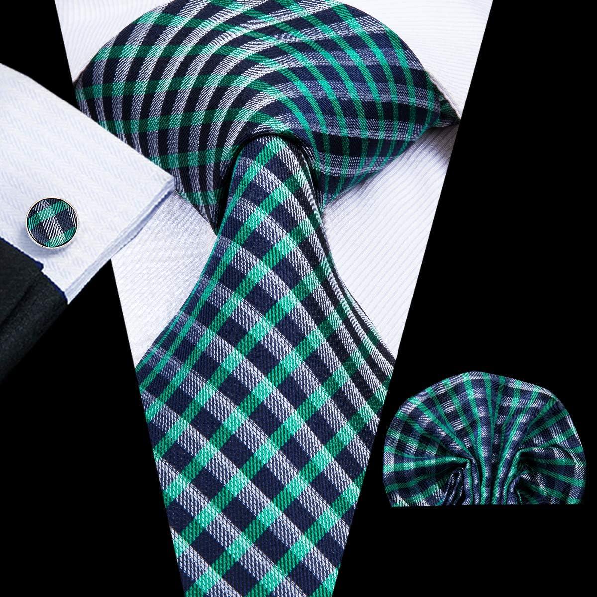 Hi-Tie - Corbata - para hombre Verde 3050-n Talla única: Amazon.es ...