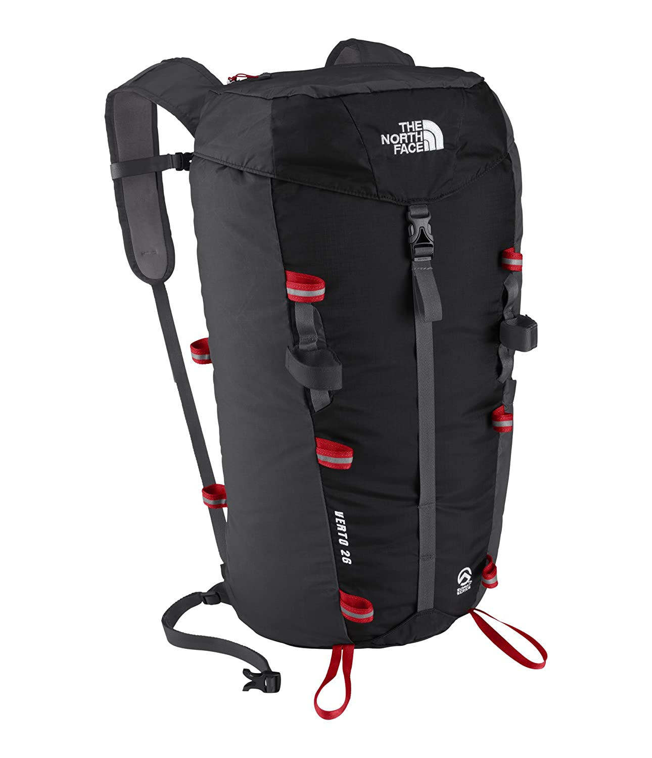 425650424 THE NORTH FACE Verto 26 Pack TNF Black/Centennial Red 26L: Amazon.co ...