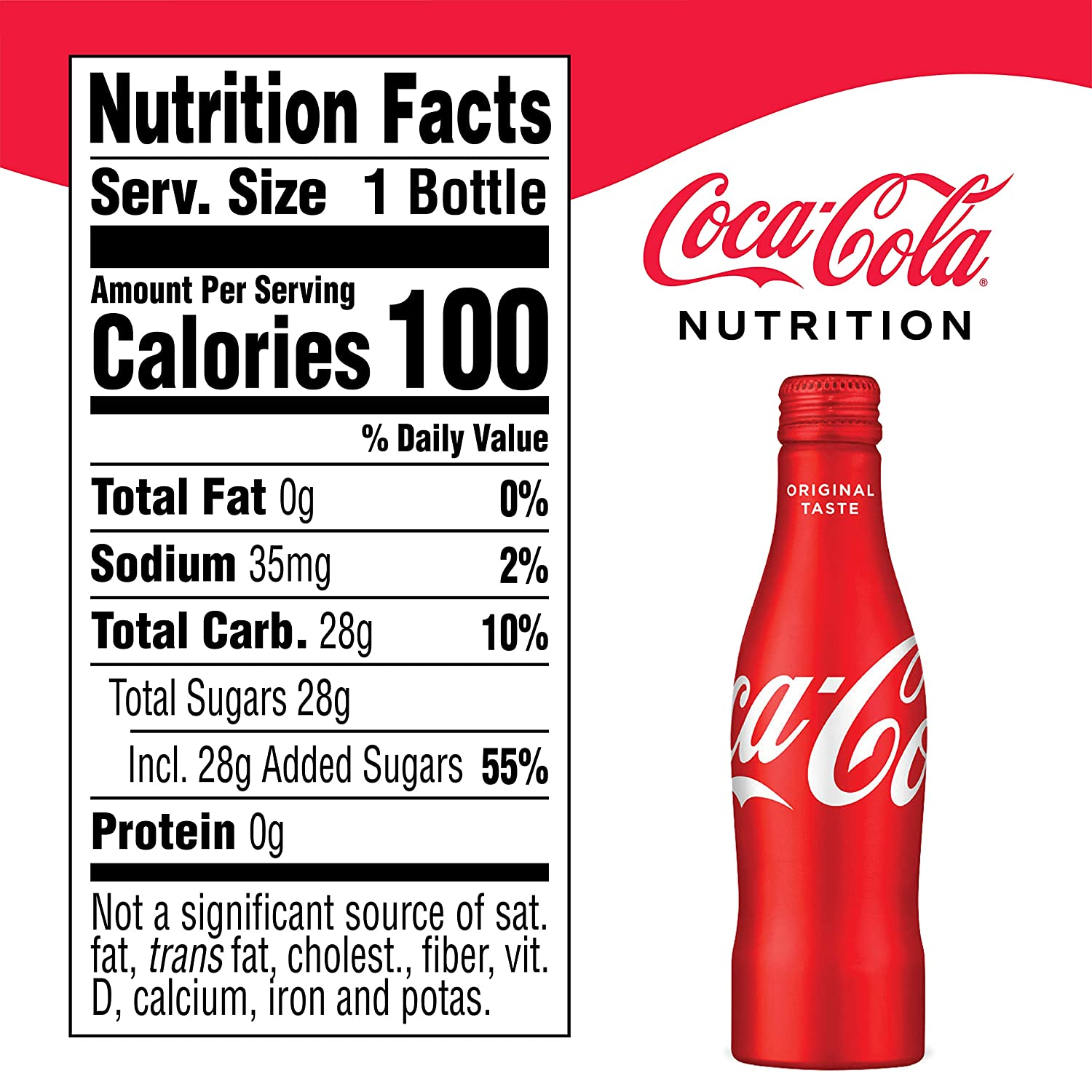 Buy Coca-Cola Aluminum Bottle, 8 5 Ounce (Pack of 12) Online