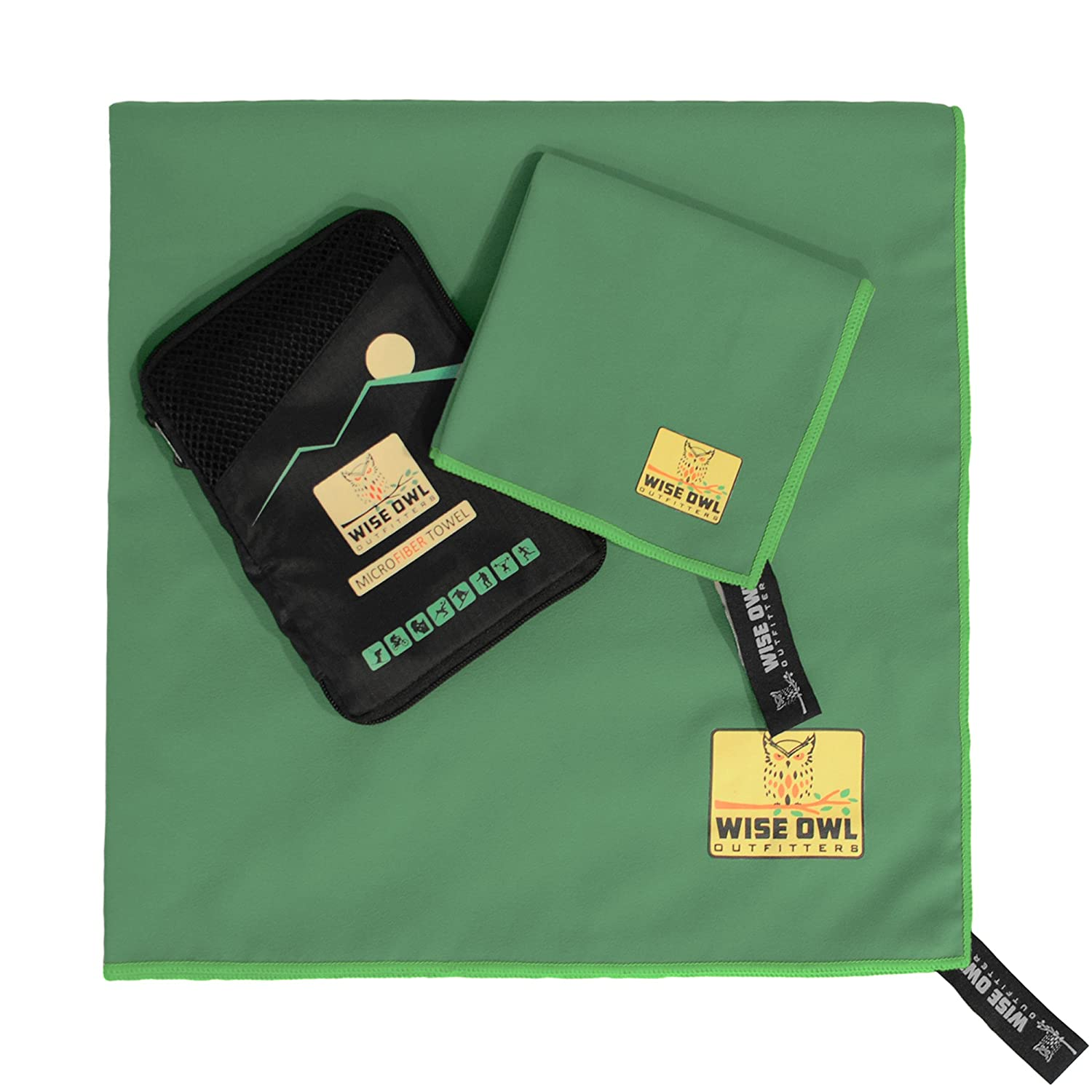 Camping Towel by Wise Owl Outfitters