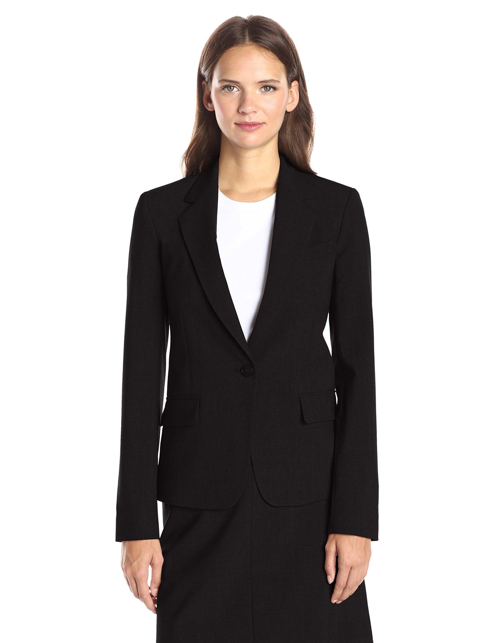 Theory Women's Gabe N Edition 4 Jacket, Black, 4