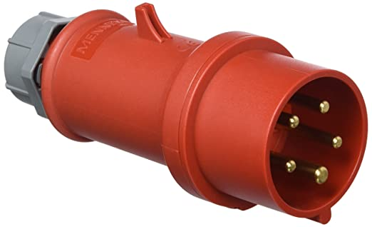 CEE-Kupplung 16 A Starkstrom 5-polig 400V IP44 Stecker 16A