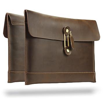 Urcover® Bolsa Laptop 10 Pulgadas Folder Almacenamiento con Cierre Lazo Unisex Diseño Clasico Cartera para