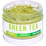 GREEN TEA DETOX FACE SCRUB By Teami: Exfoliate, Hydrate, and Moisturize All Skin Types. Our Best Facial Scrubs with Organic Lemongrass for Blemishes & Exfoliating Sugar for Blackheads